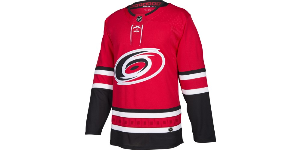 ef459db04a3 Official ADIDAS ADIZERO Authentic NHL jersey: Carolina Hurricanes Home  jersey ...