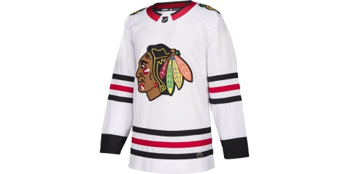 Chandail Officiel LNH ADIDAS ADIZERO: Blackhawks de Chicago (Visiteur)