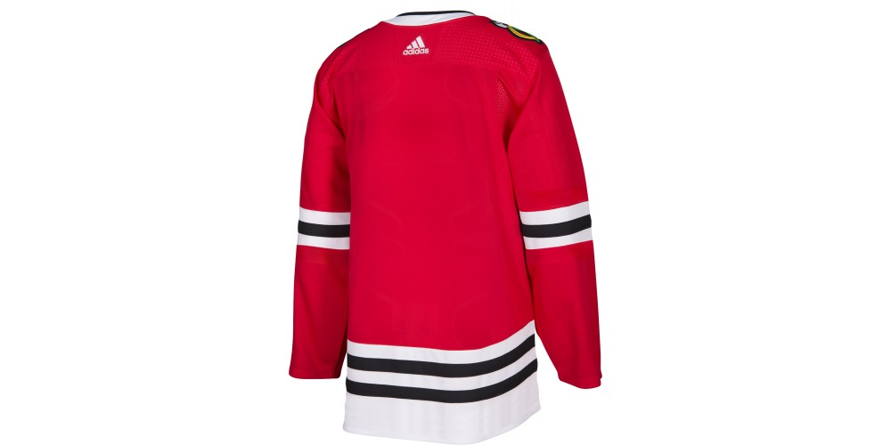 0181f96f2ed ... Official ADIDAS ADIZERO Authentic NHL jersey  Chicago Blackhawks Home  jersey ...