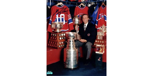 Guy Lafleur photo 8x10 signée (SFC10039)