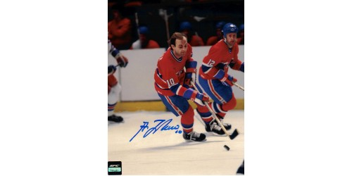 Guy Lafleur photo 8x10 signée (SFC10124)