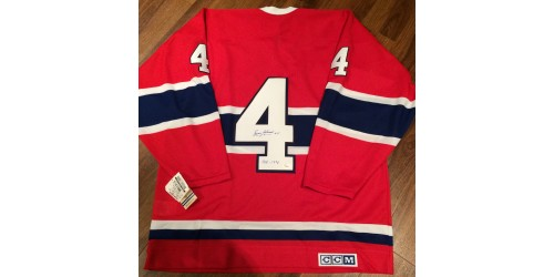 Jean Beliveau Official CCM signed jersey JSA authentification (Y58404)